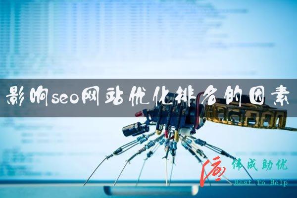 影响seo网站优化排名的因素